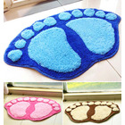 Soft Footprint Bathroom /Bedroom Rug Mat