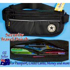 Premium Travel Security Waist Pouch Passport Money Credit Card Belt Wallet Bum Bag ★