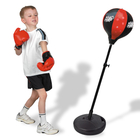 LARGE Kids Speed Ball Stand Punching Boxing Bag Glove Set