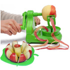 2 Combo Pack: Apple Peeler Fruit Peeling Machine & Apple Corer/Slicer