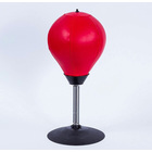 Desk Punching Boxing Bag Table Speed Ball Game Stand