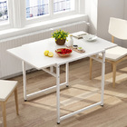 Divine Folding Dining Utility Table (White)