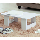 Varossa's Simplicity Wooden Coffee Table (White)