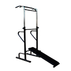 Power Tower Home Gym Dip Bar Exercise Bench Pull Up Stand Fitness Station