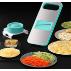 Stainless Steel Vegetable Fruit Slicer Food Processor Cutter Grater Set