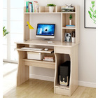 Elite Computer Desk Table with Shelf & Drawer Office Furniture (White Oak)