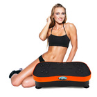 Ultra Slim Vibration Machine Whole Body Shaper Plate (Orange)