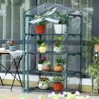 Deluxe 4-Tier Garden Greenhouse
