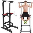 Heavy Duty Power Tower Dip Bar Pull Up Stand Fitness Station
