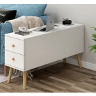 Atlantic Lift Storage Coffee Table with Drawers (White) -100cm