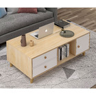 Caesar Deluxe Wooden Coffee Table with Drawer