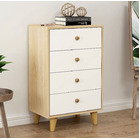 Unity Tallboy Chest of Drawers (White)