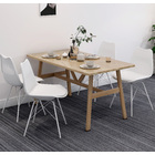 5 Piece Utopia Dining Table and Chairs Set (Oak)