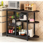 Optimal Organizer Kitchen Workbench Storage Shelf (Black)
