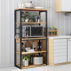 Continental Kitchen Organizer Rack Storage Shelf (Oak)