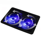 Double XL Fan Laptop Notebook Holder Cooling Pad Stand