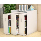 Infinity Vertical Cabinet Shelving System 3-Drawer (White)