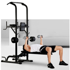 Multifunction Heavy Duty Home Gym Power Tower Dip Bar Stand & Weight Bench