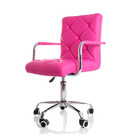 Focus PU Leather Office Chair (Hot Pink)
