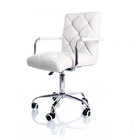 Focus PU Leather Office Chair (White)