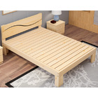 Nirvana Wooden Bed Base Frame - Double